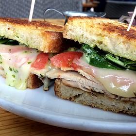 Chicken Pomodoro Sandwich
