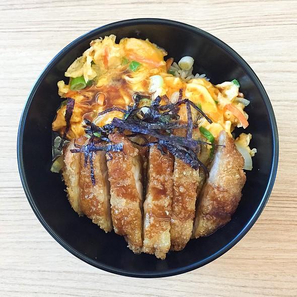 Chicken Katsu Don @ Negiya Donburi