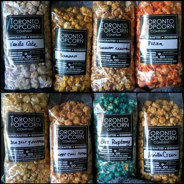 Popcorn - Various Flavours