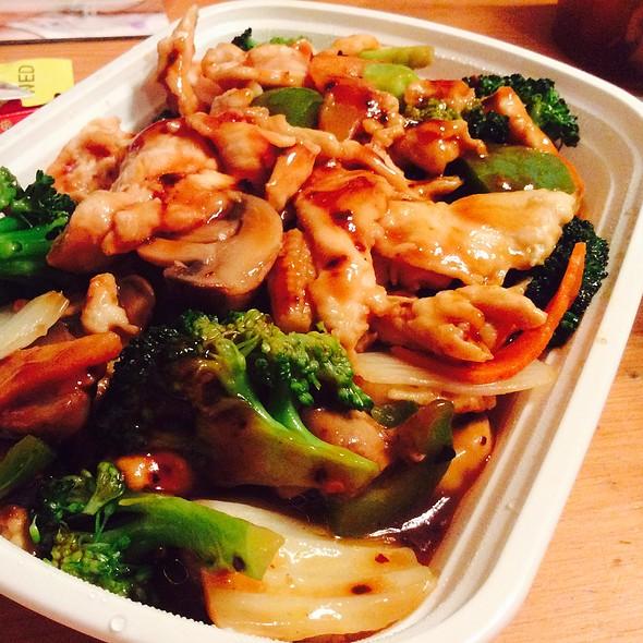 Chicken Szechuan Dinner @ The Cornerstone