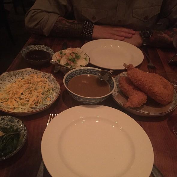 Rabbit Katsu Curry @ Animal Restaurant