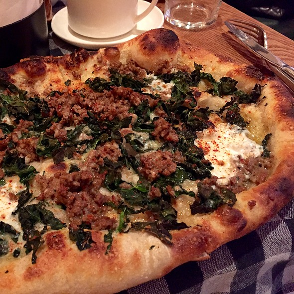 Sausage & Kale Pizza @ Upland