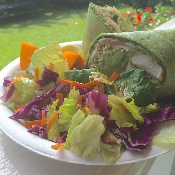 Mama's Hot Fish Wrap @ What's Shakin
