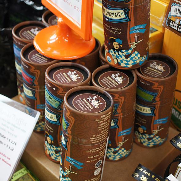 Tea Room Chocolates Display @ SF Chocolate Salon