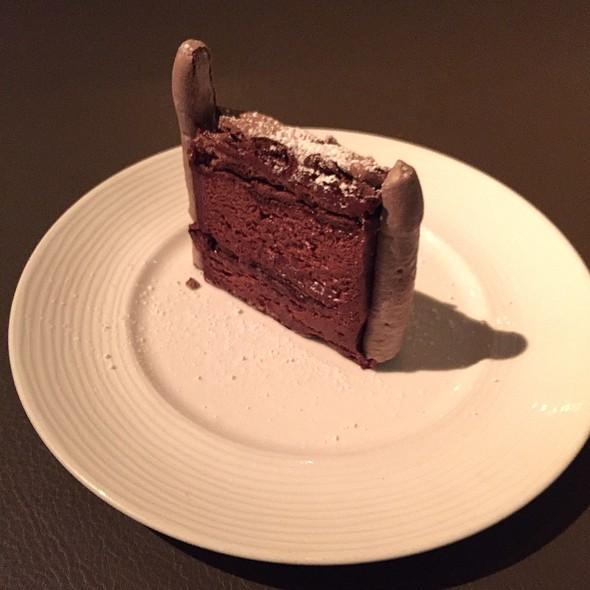 Gateau Au Chocolate @ La Toque Restaurant