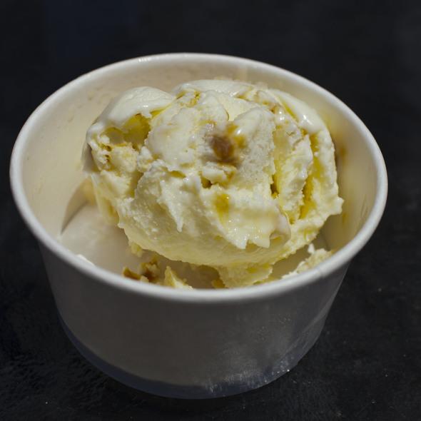 Salted butter caramel ice cream @ Sweet Republic