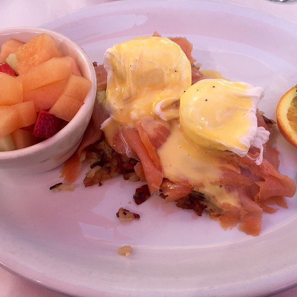 Salmon Benedict - Marco's Trattoria - West Hollywood, West Hollywood, CA