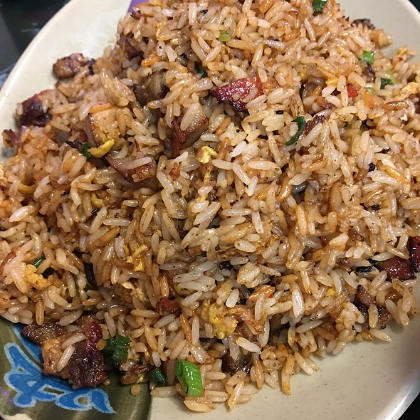 Roasted Pork Fried Rice @ Tasty Wok