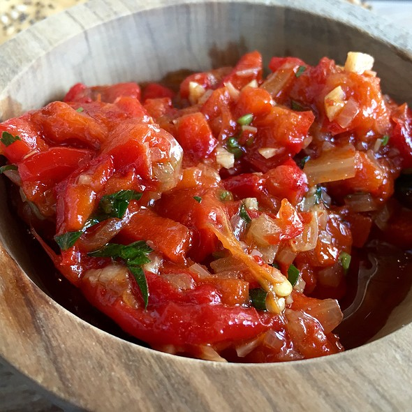 marinated peppers - Halcyon, Flavors from the Earth, Charlotte, NC
