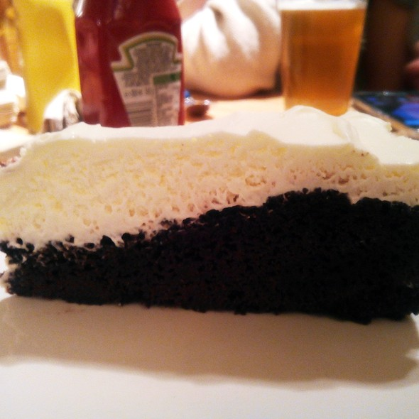 Chocolate And Guinness Cake @ Burnout