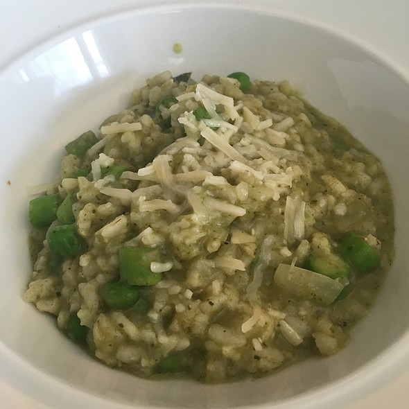 Spring Risotto With Peas And Asparagus - Crabtree's Kittle House, Chappaqua, NY