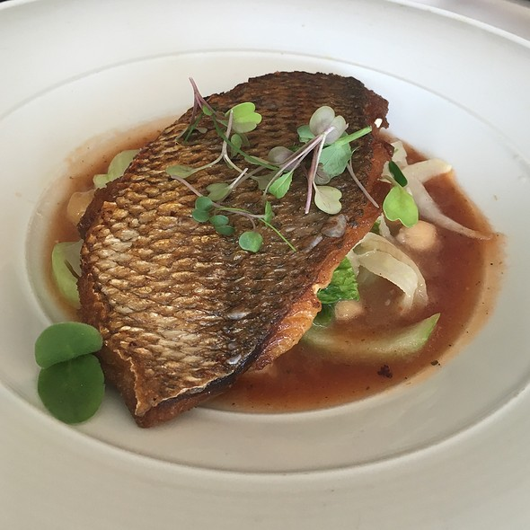Seabream With Bok Choy - Crabtree's Kittle House, Chappaqua, NY