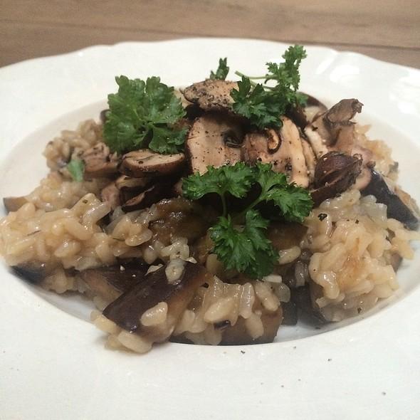 mushroom risotto @ Pe's Kitchen