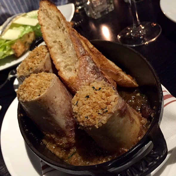 Roasted Bone Marrow @ Boston Chops