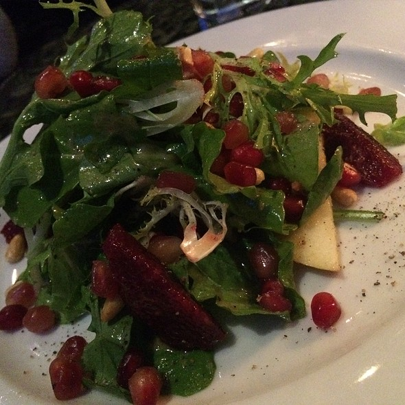 Pomegranate And Persimmon Salad @ Catch Restaurant