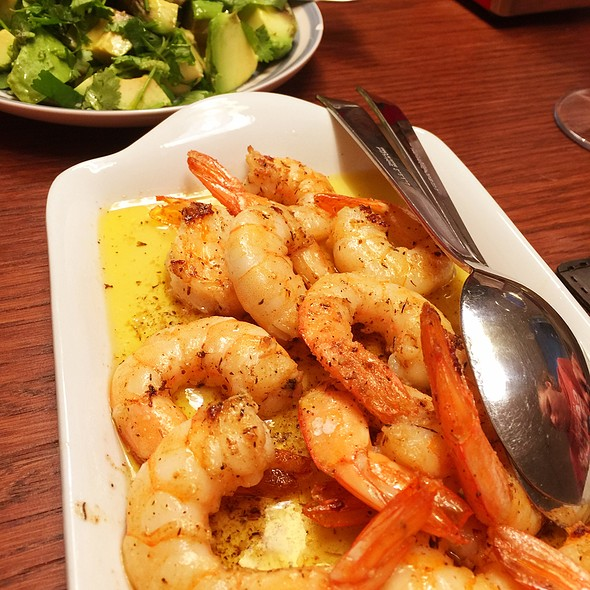 Gambas a la Plancha @ June's Kitchen In Tenerife