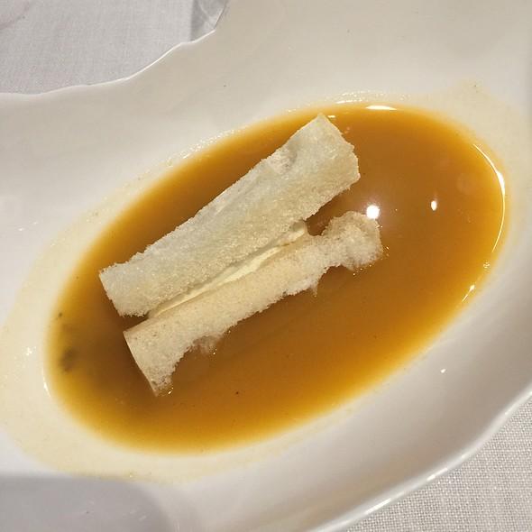 Sopa De Ajo Negro Con Brandada De Bacalao @ El Bohio