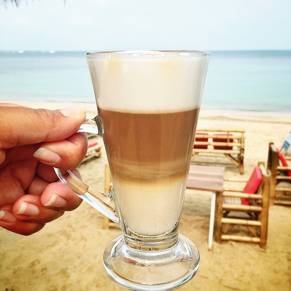 Caffe Latte @ Blue Ocean Garden Resort