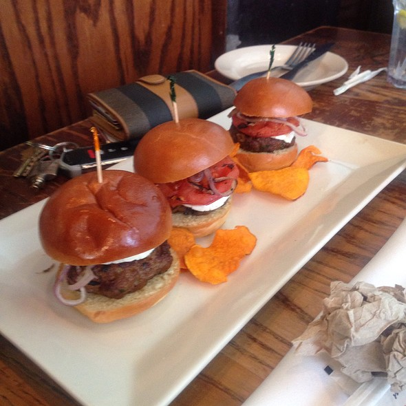 Lamb Sliders @ Busboys & Poets