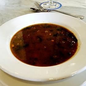 Turtle Soup au Sherry