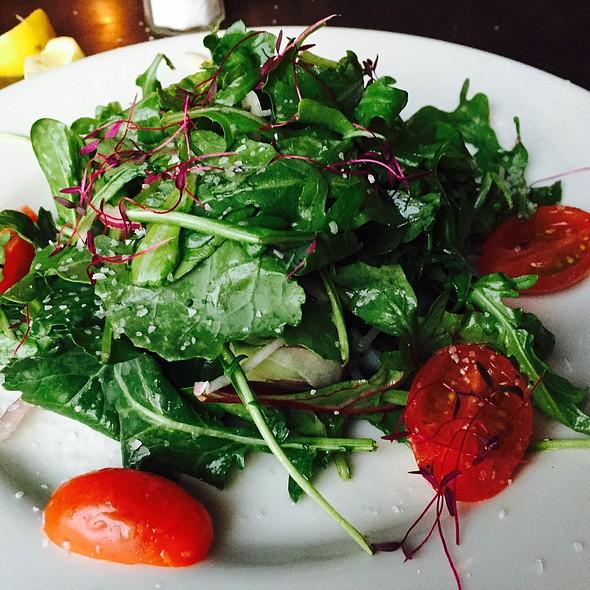 Side Arugula Dinner Salad @ Basin Seafood & Spirits