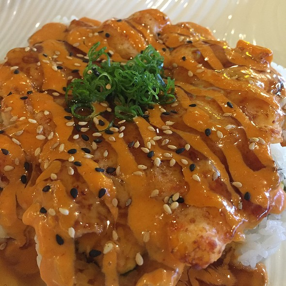 Lobster Crossing @ Harumi Sushi