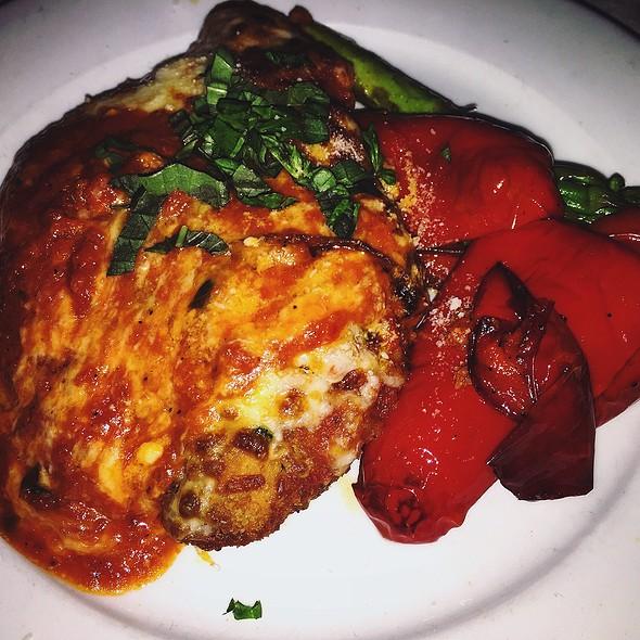 Chicken Parmesan & Vegetables - Nico, Boston, MA