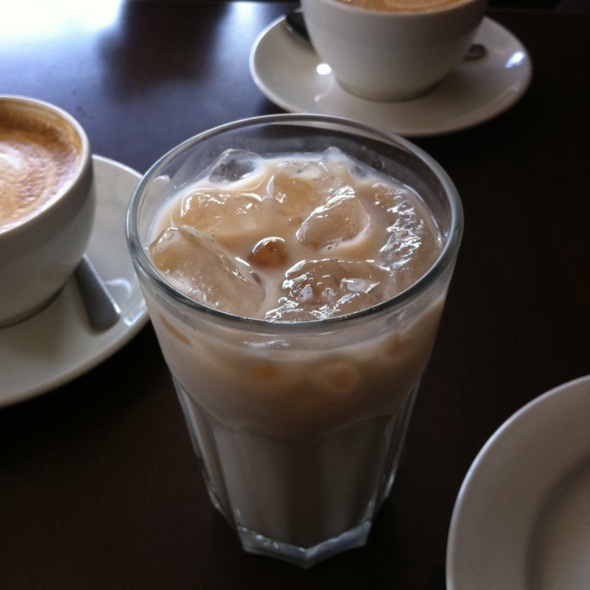 Iced Chai @ Broadview Espresso