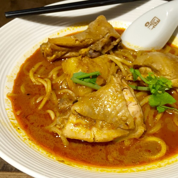 Curry Mee @ Ehhe Art Cafe 中間旁邊
