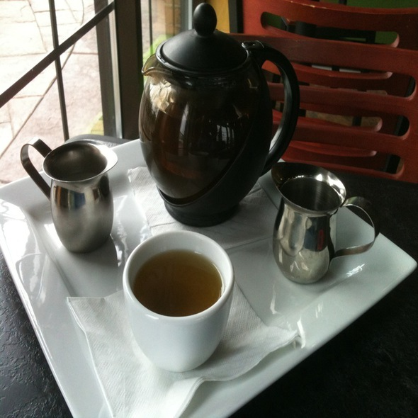 Amazon Spice Tea Pot @ Steepery Tea Bar