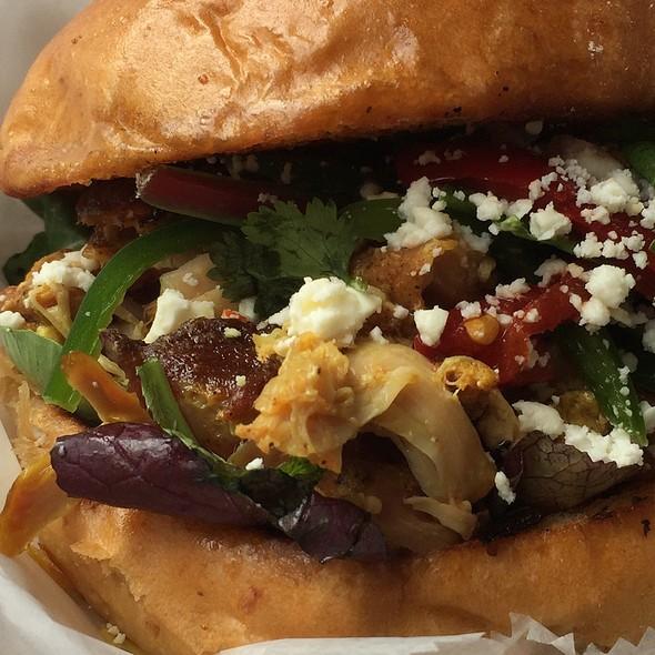 Spiced Chicken Sandwich @ Local 215 Food Truck