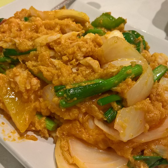Yellow Curry Crab @ Terrace 61