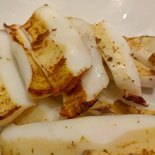 Grilled Squid @ Terrace 61