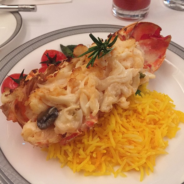 Lobster Thermidor @ Singapore Airlines Suites