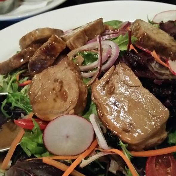 Pork Loin Medallion Salad @ Johnny Rad's