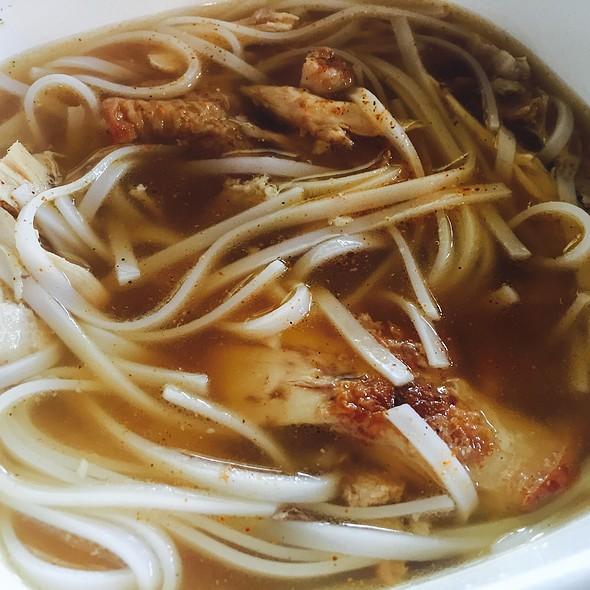 Homemade Chicken Pho @ The Cornerstone