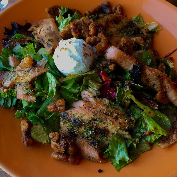 Ruby Trout Salad @ Z'Tejas Chandler