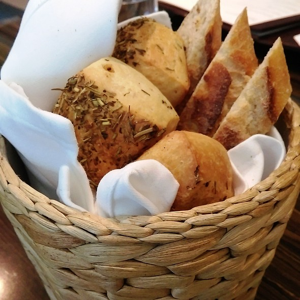 Complimentary Bread @ Seasons by Olivier Elzer