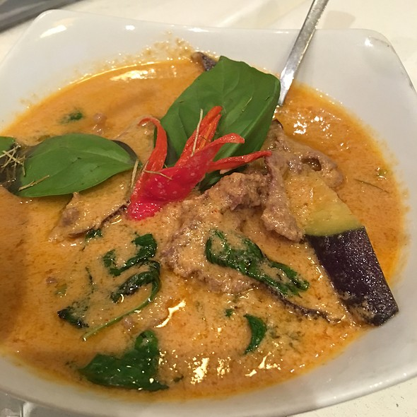 Red Beef Curry @ Thaipan