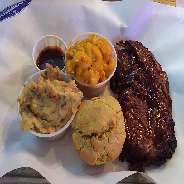 BBQ Brisket @ Texas Barbeque Cafe