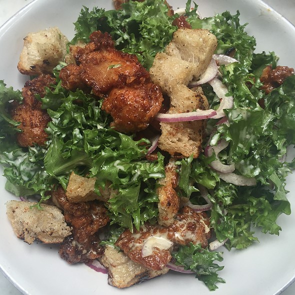 Fried Chicken Salad @ Cafe Colette