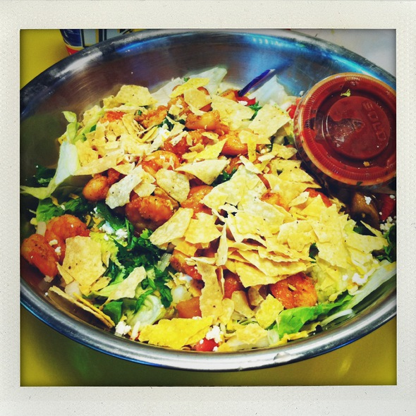 Big Salad @ Fuzzy's Taco Shop