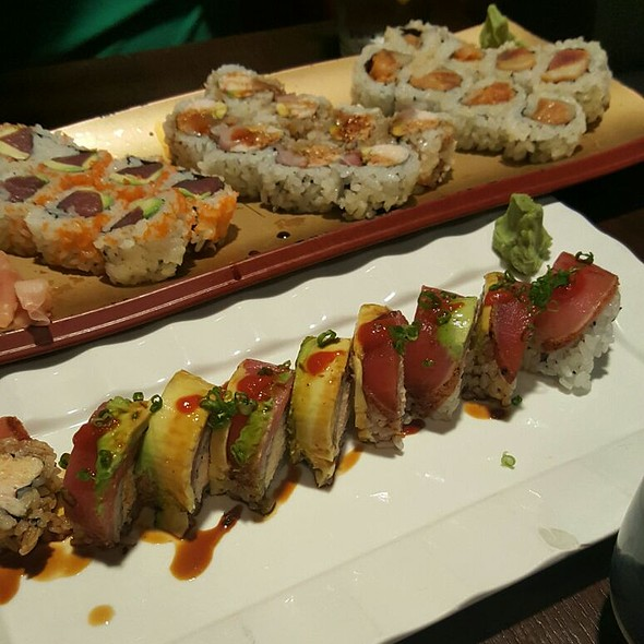 Burning Woman Roll & Other Sushi Rolls @ Little Tokyo