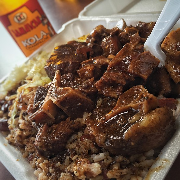 oxtail @ Negril Jamaican Restaurant