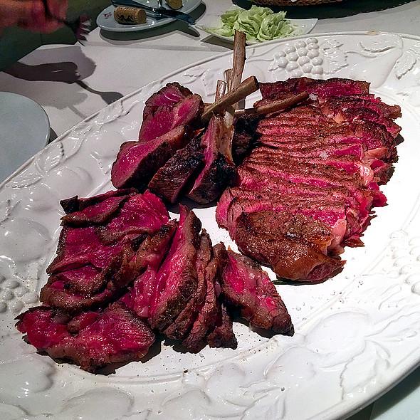 Argentinian Sirloin, Australian Chuck Steak &Lamb chops