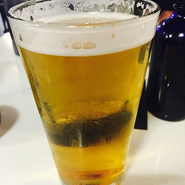 Sapporo Draft Beer @ Umami Sushi