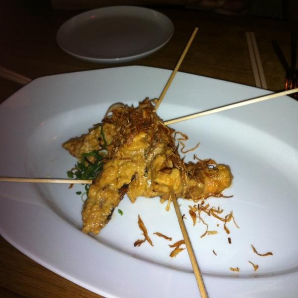 Chicken Sa-te @ Sansho