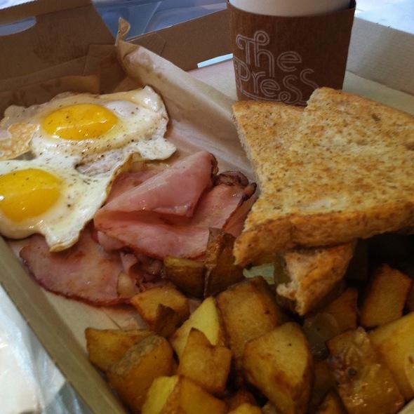 3Bs Breakfast @ FoodParc