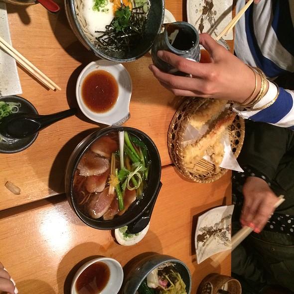 Roast Duck Soba Noodle