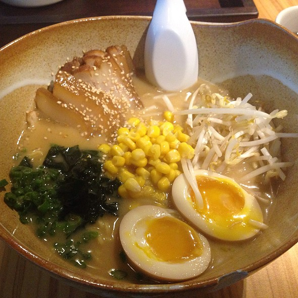 Miso Ramen @ Tea Bar & Organics Fusion